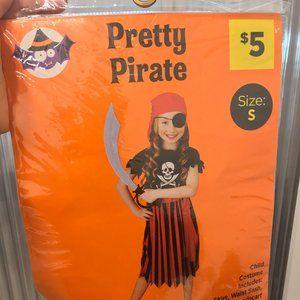 Kids Pretty Pirate Costume
